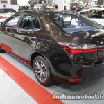 2017 Toyota Corolla rear three quarters at 2016 Thai Motor Expo
