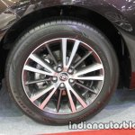 2017 Toyota Corolla wheel at 2016 Thai Motor Expo