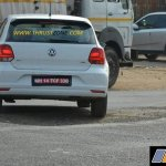2017 VW Polo GT TDI rear spied