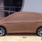 2017 VW Polo side alleged clay model