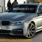 2018 BMW 3 Series front three quarters rendering