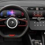 2018 Renault Clio interior rendering