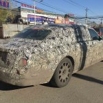 2018 Rolls-Royce Phantom rear three quarters spy shot China