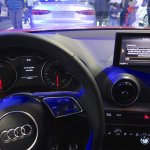 Audi Q2 MMI display at Bogota Auto Show 2016