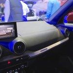 Audi Q2 interior at Bogota Auto Show 2016