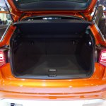 Audi Q2 boot space at Bogota Auto Show 2016