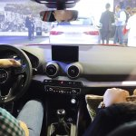 Audi Q2 dashboard at Bogota Auto Show 2016