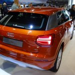 Audi Q2 rear three quarter at Bogota Auto Show 2016
