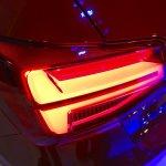 Audi Q2 taillamp at Bogota Auto Show 2016
