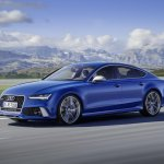 Audi RS 7 Performance front three quarter press image
