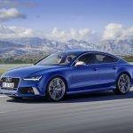 Audi RS 7 Performance side press image