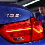 BMW 1 Series sedan badge world debut