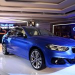 BMW 1 Series sedan front three quarter world debut