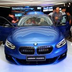 BMW 1 Series sedan front world debut
