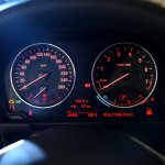 BMW 1 Series sedan instrument cluster world debut