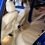 BMW 1 Series sedan rear seat world debut