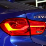 BMW 1 Series sedan taillamp world debut