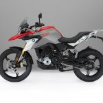 BMW G 310 GS profile studio image