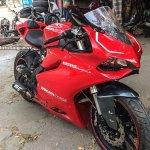 Benelli TNT 300 Ducati lookalike front three quarter