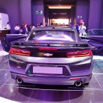 Chevrolet Camaro 50th Anniversary Edition rear at 2016 Bogota Auto Show