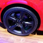 Chevrolet Camaro SS wheel at 2016 Bogota Auto Show