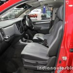 Chevrolet Colorado Z71 front seats at 2016 Thai Motor Expo