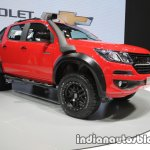 Chevrolet Colorado Z71 front three quarters at 2016 Thai Motor Expo