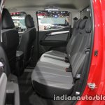 Chevrolet Colorado Z71 rear seats at 2016 Thai Motor Expo
