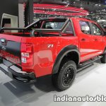 Chevrolet Colorado Z71 rear three quarters at 2016 Thai Motor Expo