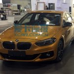 China-made BMW 1 Series sedan front quarter photographed