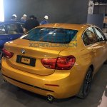 China-made BMW 1 Series sedan rear quarter photographed