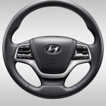 Chinese-spec 2017 Hyundai Verna steering wheel
