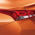 Chinese-spec 2017 Hyundai Verna tail lamp