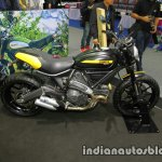 Ducati Scrambler Full Throttle side at Thai Motor Expo