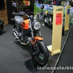 Ducati Scrambler Sixty2 front three quarter at Thai Motor Expo