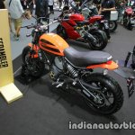 Ducati Scrambler Sixty2 rear three quarter at Thai Motor Expo