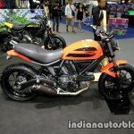 Ducati Scrambler Sixty2 side at Thai Motor Expo