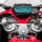 Ducati SuperSport instrumentation