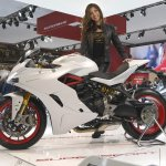 Ducati SuperSport EICMA 2016 closeup