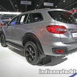 Ford Everest (Endeavour) Custom rear three quarter at the Thai Motor Expo Live