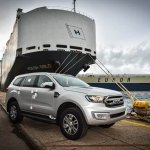 Ford Everest Export commences from South Africa