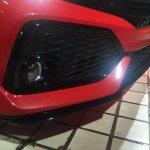 Honda Civic Si Prototype air intake at 2016 LA Auto Show