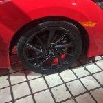 Honda Civic Si Prototype at 2016 LA Auto Show wheel