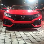 Honda Civic Si Prototype front at 2016 LA Auto Show