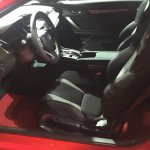 Honda Civic Si Prototype interior at 2016 LA Auto Show