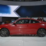 Honda Civic Si Prototype left side at 2016 LA Auto Show