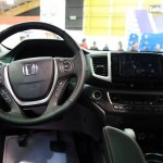 Honda Pilot interior at 2016 Bogota Auto Show