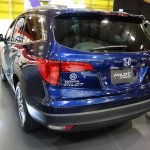 Honda Pilot rear three quarters at 2016 Bogota Auto Show
