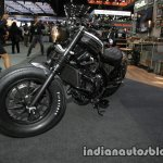 Honda Rebel 500 2016 Thai Motor Expo black customised front three quarter