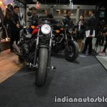 Honda Rebel 500 black front at Thai Motor Expo
